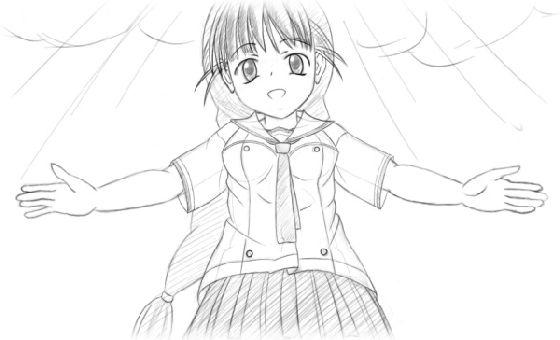 サムネイル画像 - 黒幕ちーさん〜倉田ちさと(下書き)