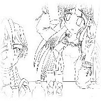 thumbnail-mini-夏少女(線画)