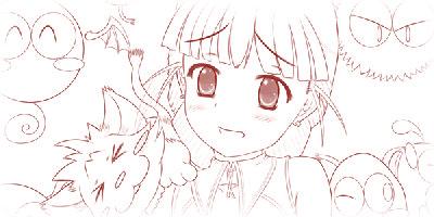 thumbnail-normal-ぽよぽよ地獄〜倉田ちさと(下書き)